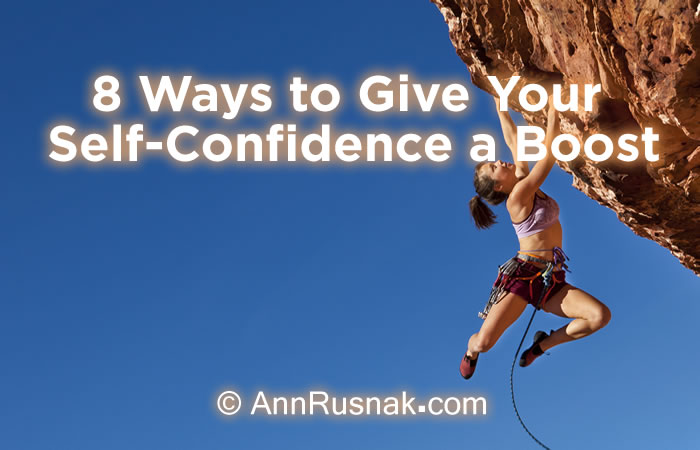 boost self confidence