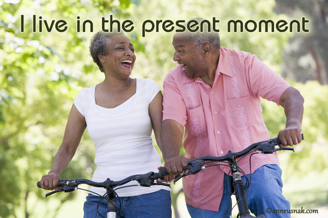 live in present moment affirmation