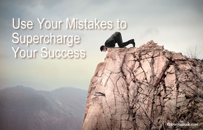 Supercharge your success with mistakes