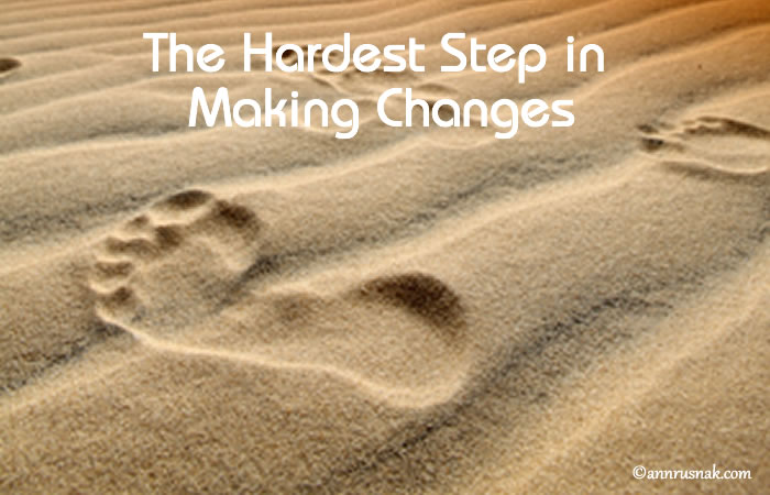 hardest step for habits