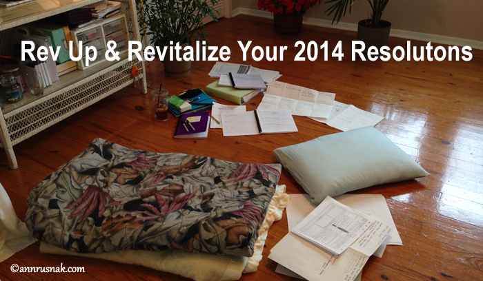 Revitalize your 2014 Resolutions