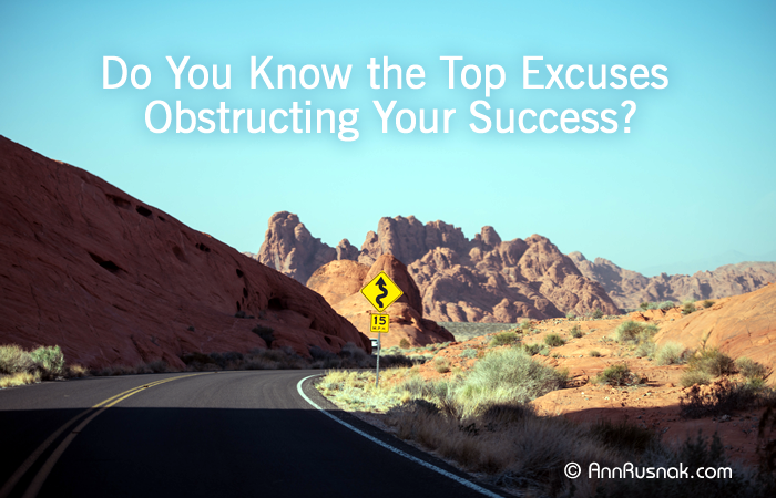 Excuses sabotaging your success