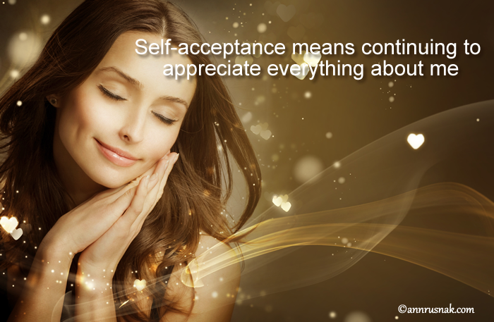 Appreciate Self Acceptance